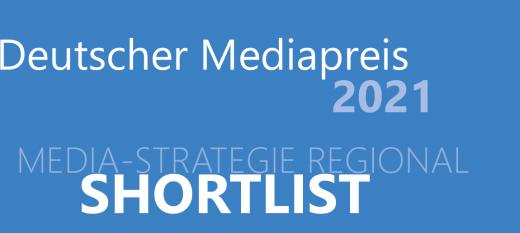 Nominierung für den Deutschen Mediapreis 2021